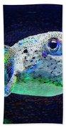 Puffer Fish Beach Sheet