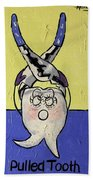 Pulled Tooth Dental Art By Anthony Falbo Beach Towel