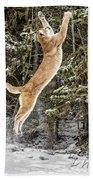 Puma High Jump Beach Towel