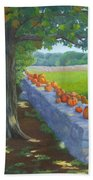 Pumpkin Muster Beach Towel