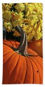 Pumpkin Still Life  Beach Towel