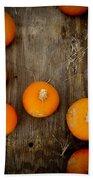 Pumpkin Tops Beach Towel