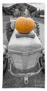 Pumpkins For Sale Vermont Beach Towel