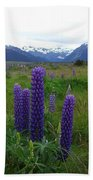 Pure And Simple Nature Of New Zealand Beach Towel