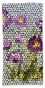 Purple Asters II  Beach Towel