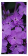 Purple Blossoms Beach Towel