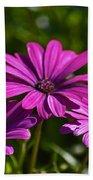 Purple Bouquet Beach Towel