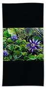 Purple Dawn Beach Towel