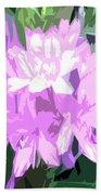 Purple Fades To Lilac Beach Towel