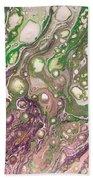 Purple Flow Beach Sheet