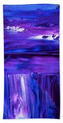 Purple Hue Beach Towel