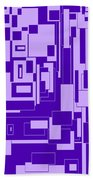 Purple Hues Beach Towel