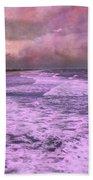 Purple Majesty  Beach Towel by Betsy Knapp
