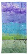 Purple Mountain's Majesty Beach Towel