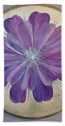 Purple Paradise Beach Towel
