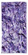 Purple, Purple, And More Purple Beach Towel
