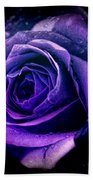 Purple Role Beach Towel