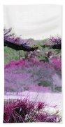 Purple Sensation Beach Towel