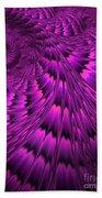 Purple Shell Beach Towel