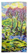 Purple Skies Seven Beach Towel