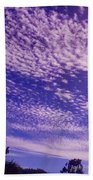 Purple Sky At Casapaz Beach Sheet