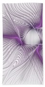Purplish Beach Towel