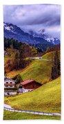 Quaint Bavarian Village Beach Towel