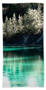 Quarry Waters Beach Towel