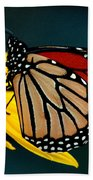 Queen Monarch 2 Beach Towel