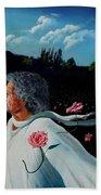 Queen Of Roses Beach Towel