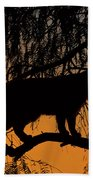 Queen Of The Tree Beach Towel