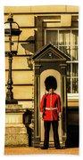 Queens Guards. Beach Towel