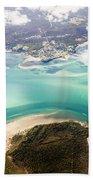 Queensland Island Bay Landscape Beach Towel