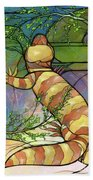 Quiet As A Mouse Beach Towel