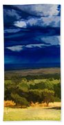 Quiet Before The Storm Beach Towel