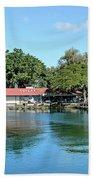 Quiet Day At Hilo Harbor Beach Towel