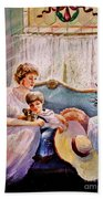 Quiet Time Beach Towel