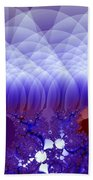 Quilted Blue Beach Towel