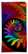 Quite Different Colors -17- Beach Towel