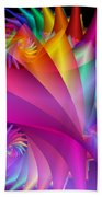 Quite In Different Colors -1- Beach Towel