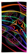 Quite In Different Colors -3- Beach Towel