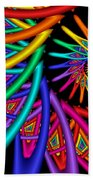 Quite In Different Colors -4- Beach Towel