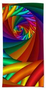 Quite In Different Colors -6- Beach Towel