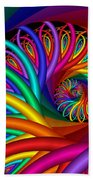 Quite In Different Colors -7- Beach Towel