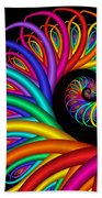 Quite In Different Colors -8- Beach Towel