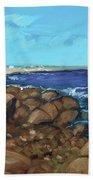 Quonocontaug West Beach Beach Towel