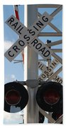 R X R Crossing Beach Towel