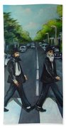 Rabbi Road Beach Towel