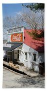 Rabbit Hash Store-front View Angle Beach Towel