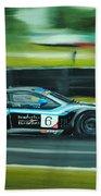 Racing Car Beach Sheet